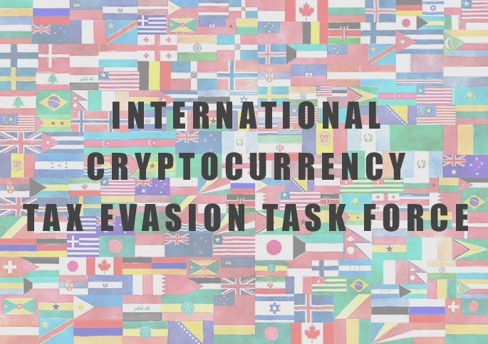 picture to accompany article about international crypto tax evasion task force
