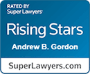 Andrew Gordon - Super Lawyers Rising Star Award 2020 - Best Chicago Lawyers