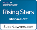 Michael Raff - Super Lawyers Rising Star Award 2020 - Chicago Tax Attorneys