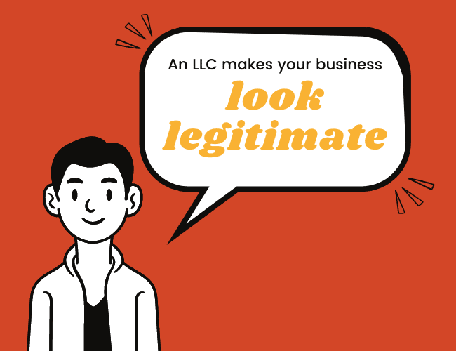 LLC Advantage #5: Make Your Business Look Credible to Customers and Other Businesses