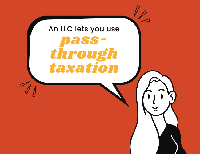 Advantages of an LLC #2: Pass-Through Taxation Lets You Save on Taxes