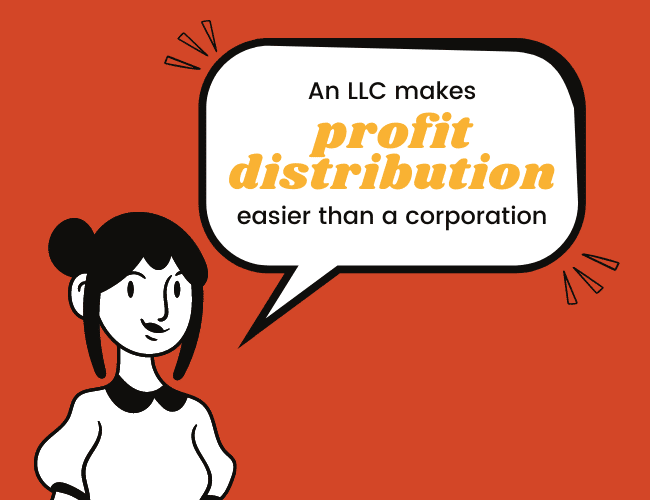 LLC Advantages #3: Make Profit Distribution Between Owners and Managers Easy