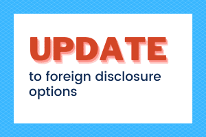 IRS Removes One of Four Options to Resolve Foreign Disclosure Mistakes