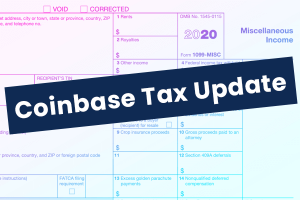 Coinbase to Issue 1099-MISC Tax Form - Cryptocurrency Tax Reporting